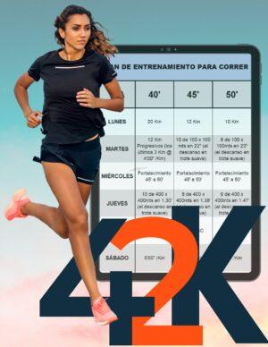 Entrenamiento para primer maratón de 42 K (20 semanas)