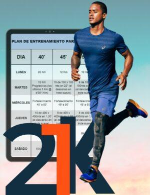 Plan de Entrenamiento para terminar 21k