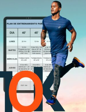 Plan de entrenamiento para correr 10 kilómetros en 40, 45, 50 o 55 minutos