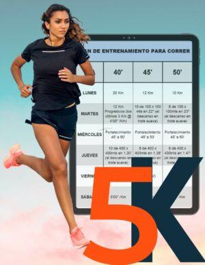 Plan para mejorar tiempos en 5 kilómetros- 12 semanas