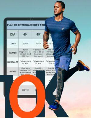 Planes para correr 10km en 40 minutos - 6 semanas