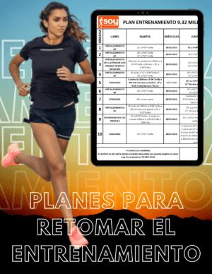 Planes para volver a correr