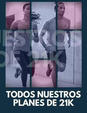 Plan medio maratón para correr